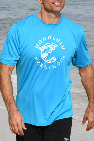 Turquoise Performance t-shirt