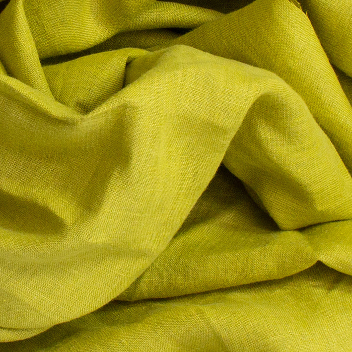 Alfie a chartreuse lime yellow