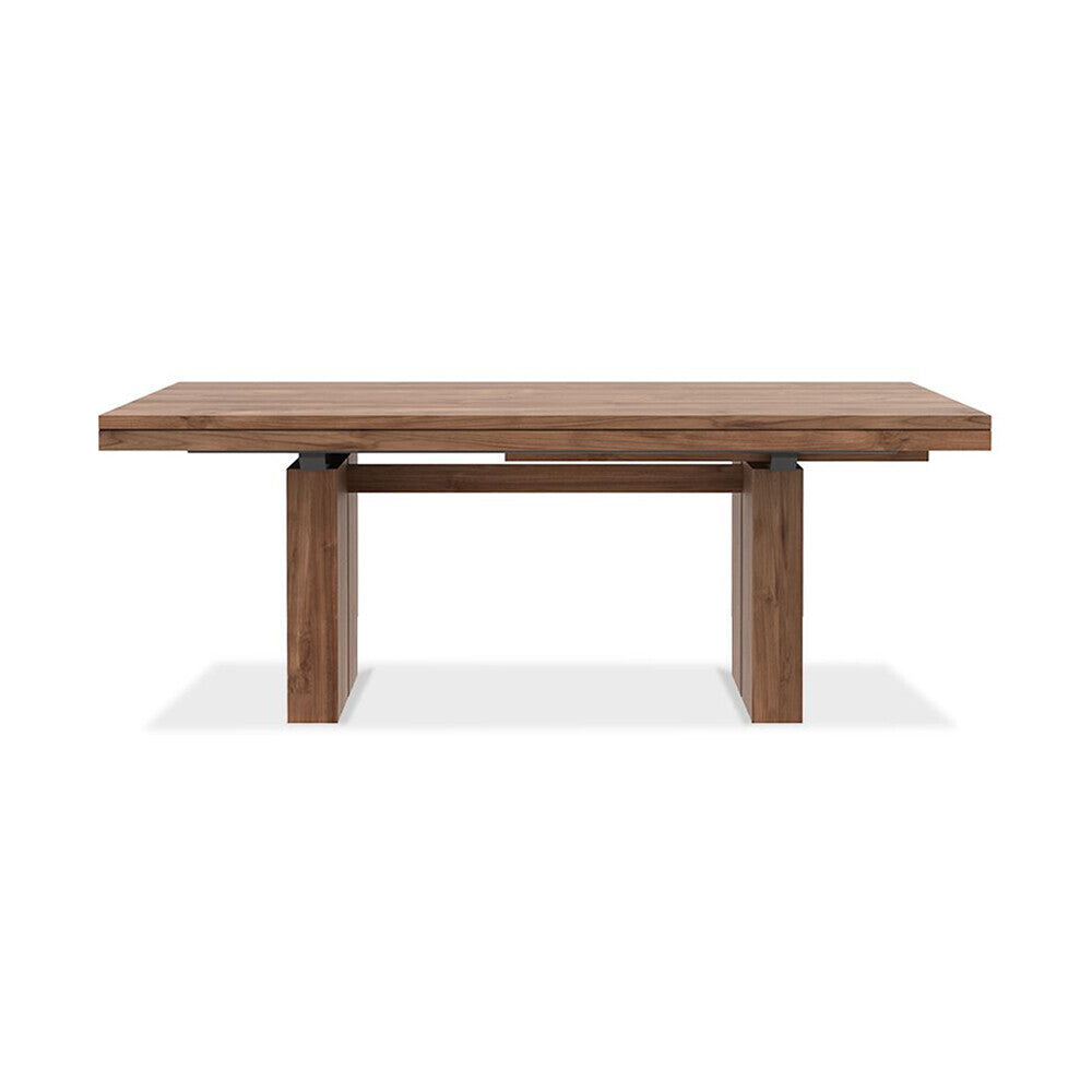 Teak Double extendable dining table by Ethnicraft