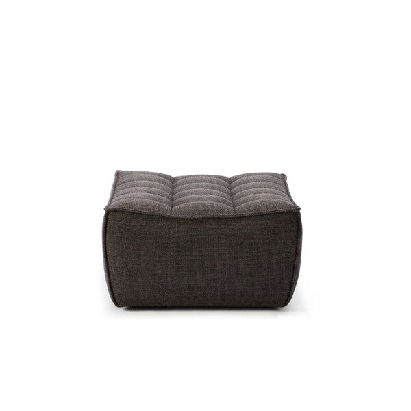 Sofa N701 - footstool -dark grey