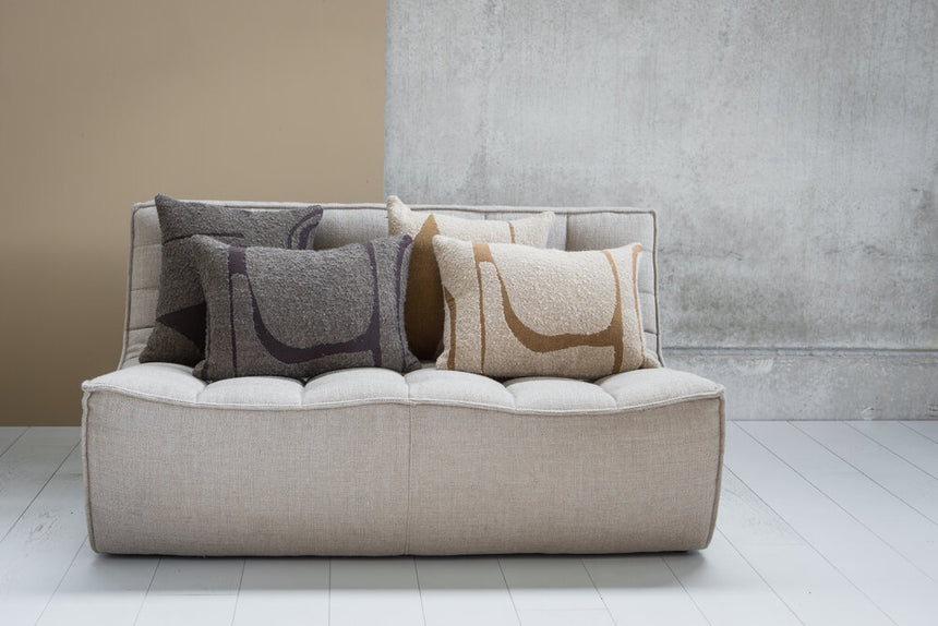 N701 sofa - 2 seater - beige