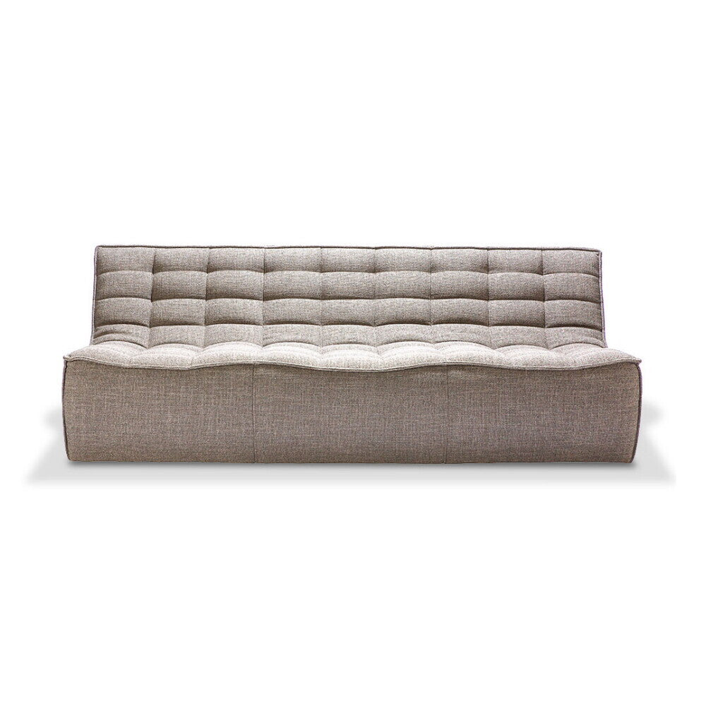 N701 sofa - 3 seater - beige by Jacques Deneef
