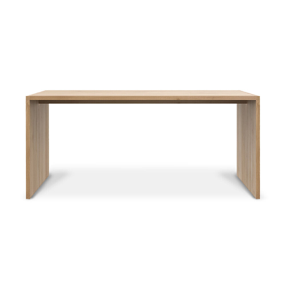 Oak U desk by Ethnicraft