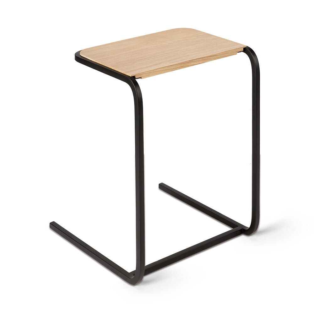 Oak N701 side table by Jacques Deneef