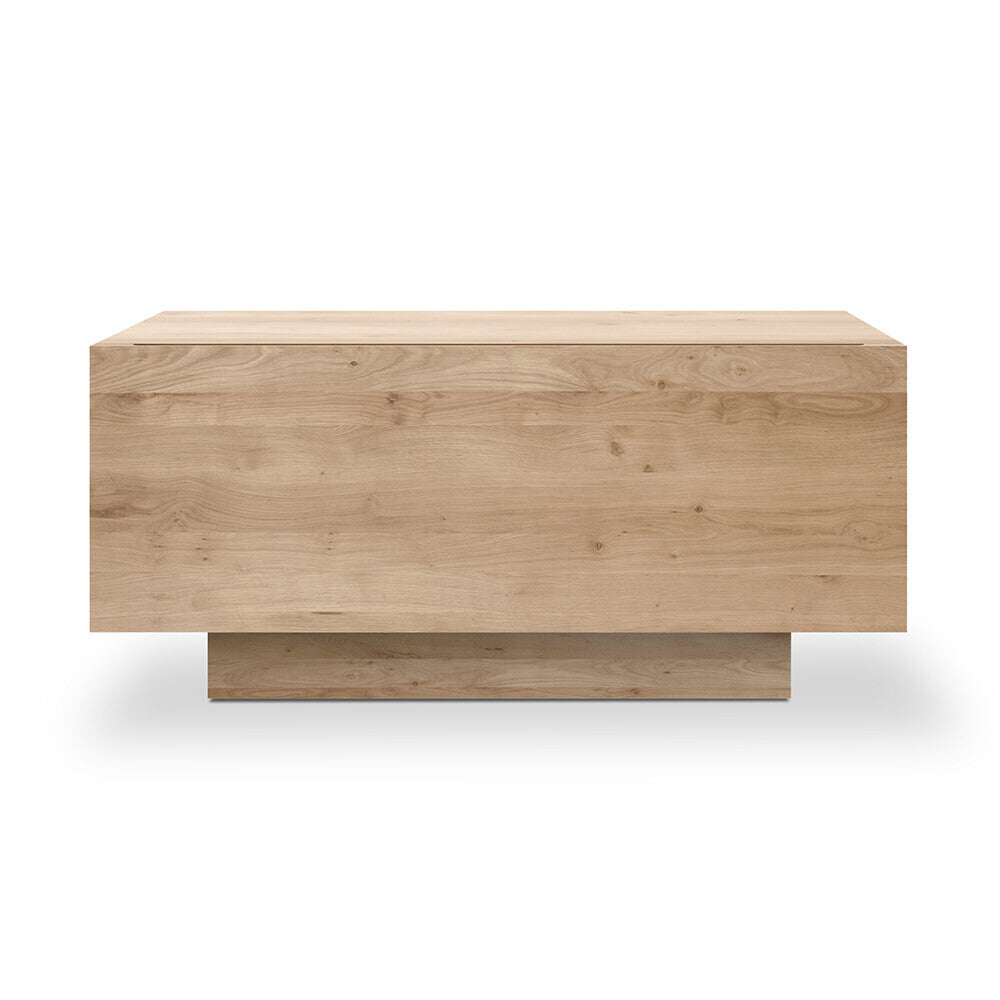 Oak Madra bedside table by Ethnicraft