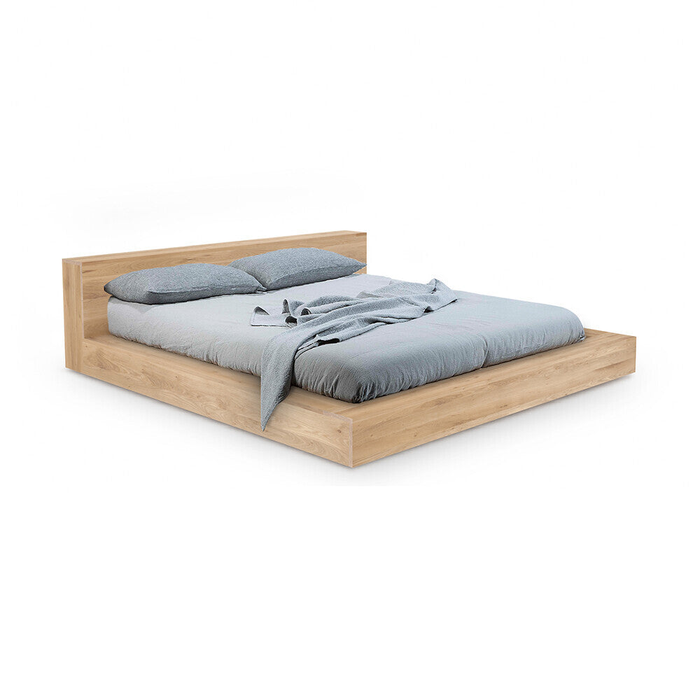 Oak Madra bed by Ethnicraft