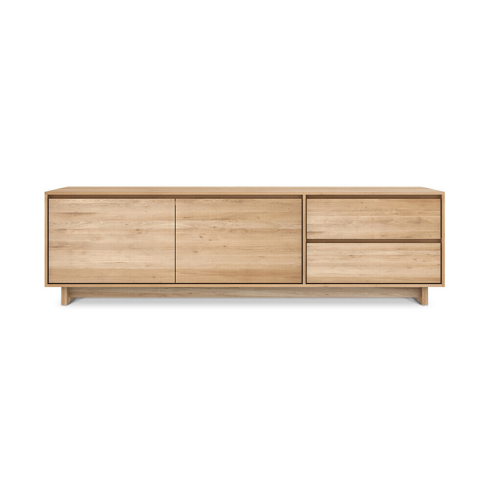 Oak Wave TV cupboard by Ethnicraft