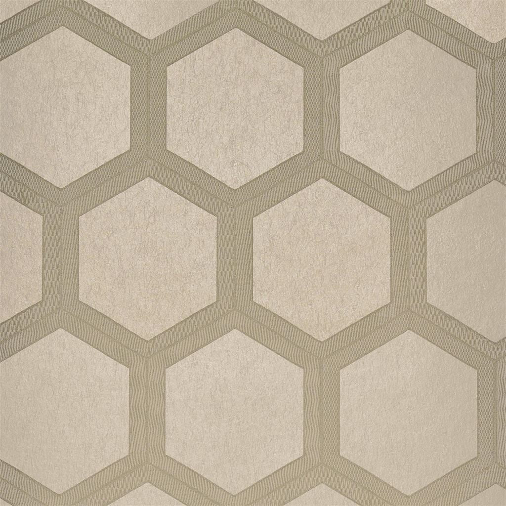 Zardozi Linen Wallpaper