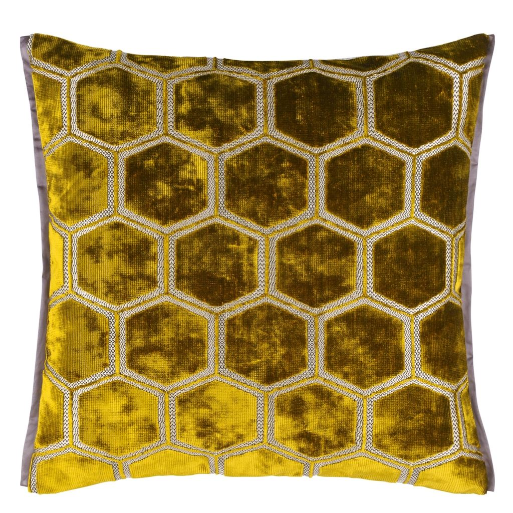 Manipur Ochre Cushion