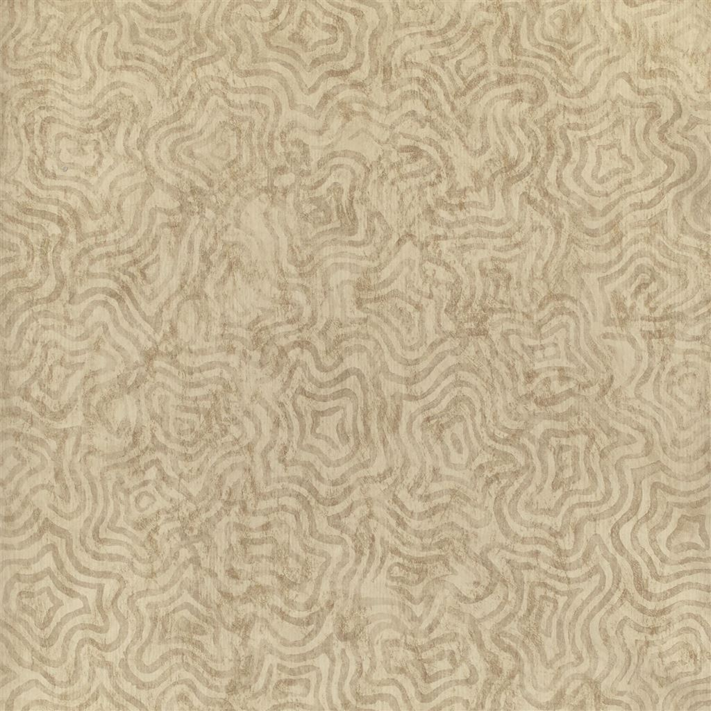 Fresco Gold Wallpaper