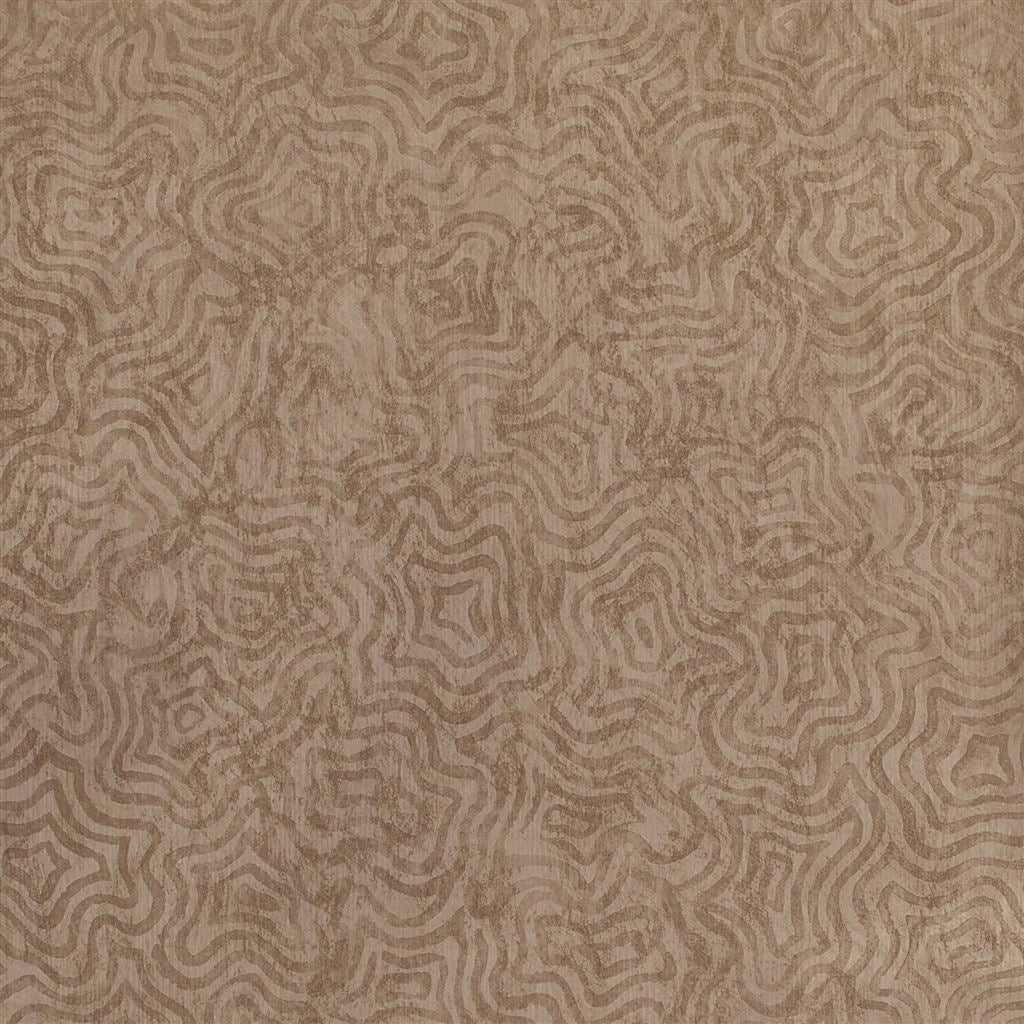 Fresco Bronze Wallpaper