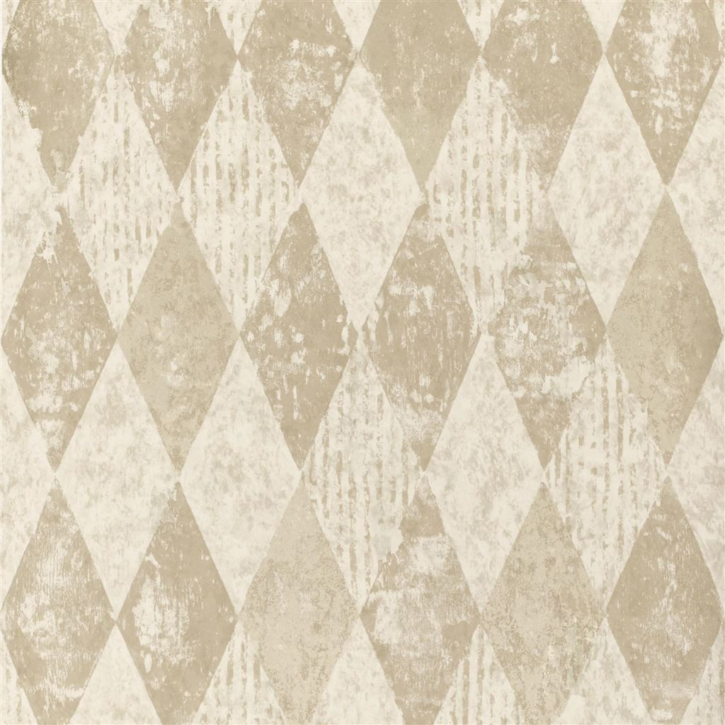 Arlecchino Linen Wallpaper