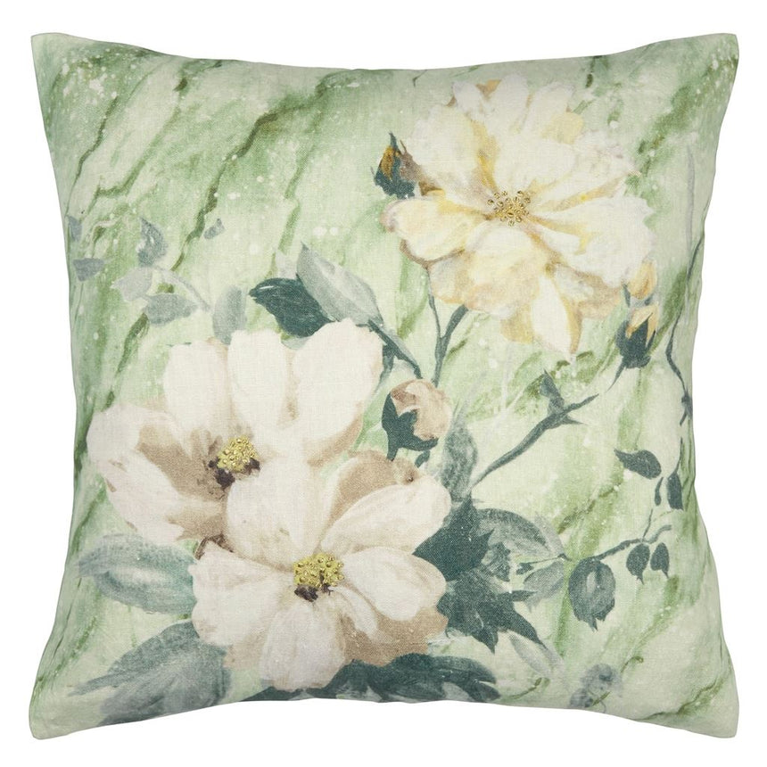 Carrara Fiore Verde Cushion