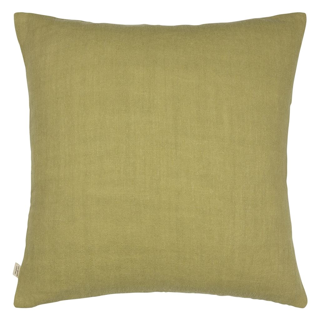 Neutral Mixed Tones Pistachio Cushion