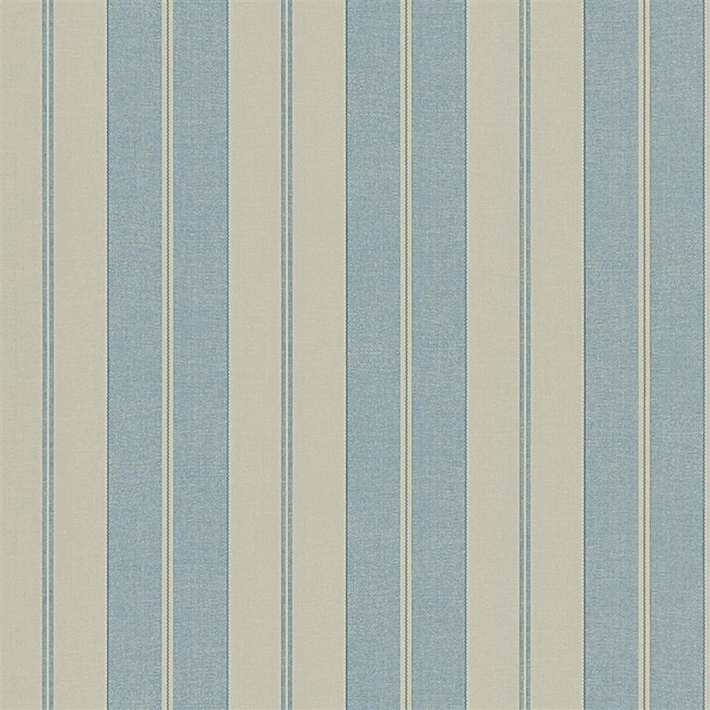 Seaworthy Stripe Slate Wallpaper