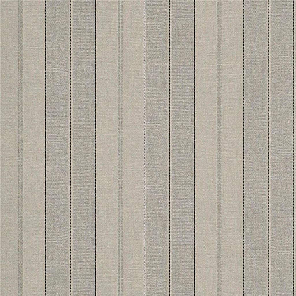 Seaworthy Stripe Pewter Wallpaper