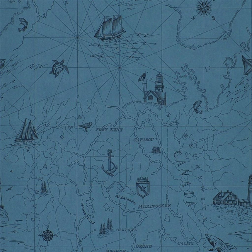 Searsport Map Atlantic