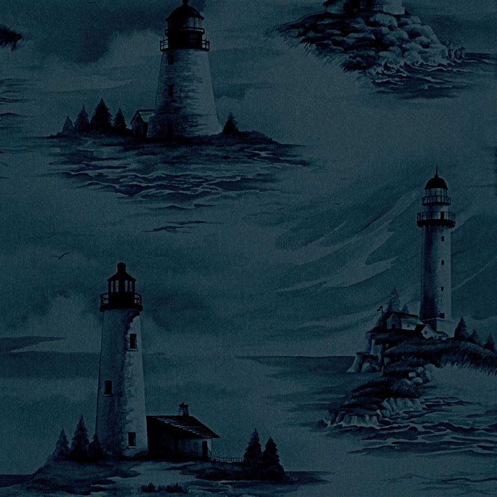 Pemaquid Midnight Wallpaper
