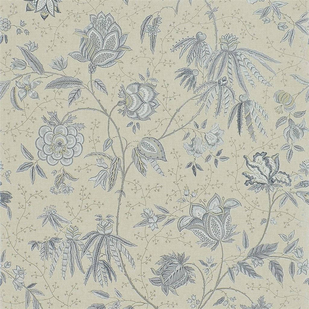 Pillar Point Floral Willow Wallpaper