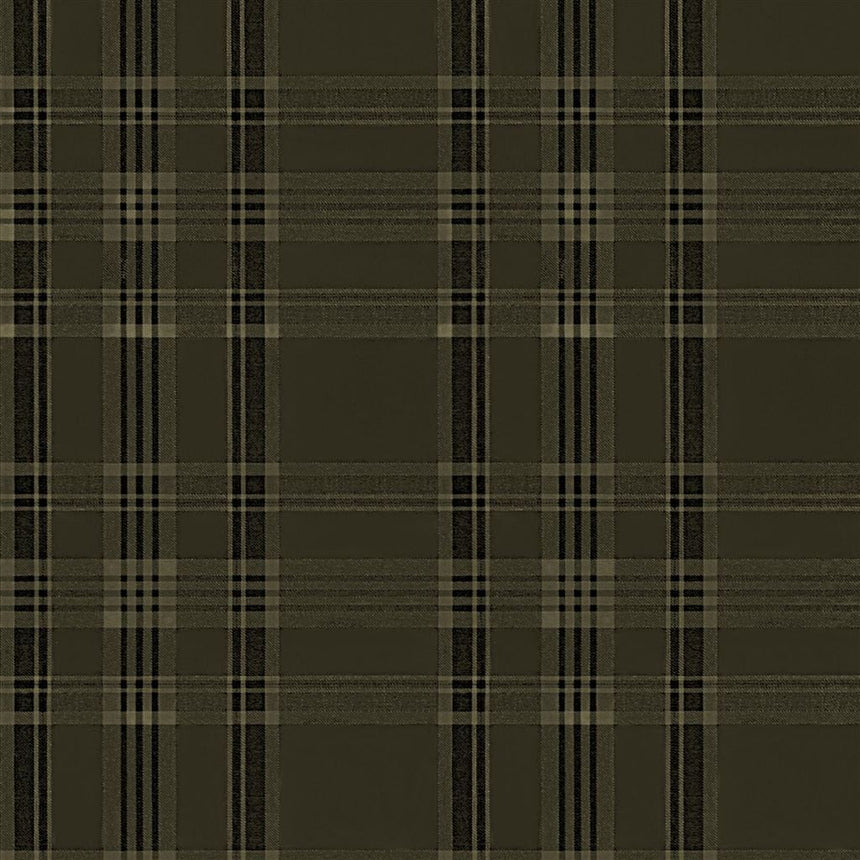 Deerpath Trail Plaid Sepia