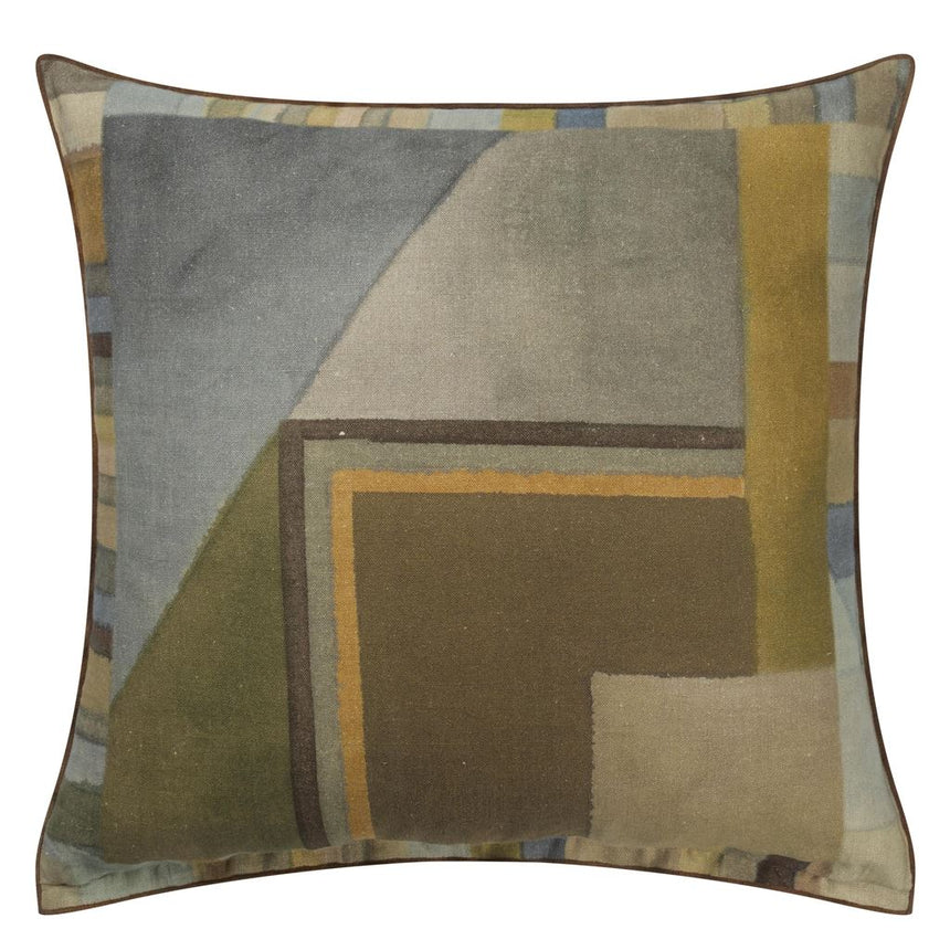 Alphonse Ochre Cushion