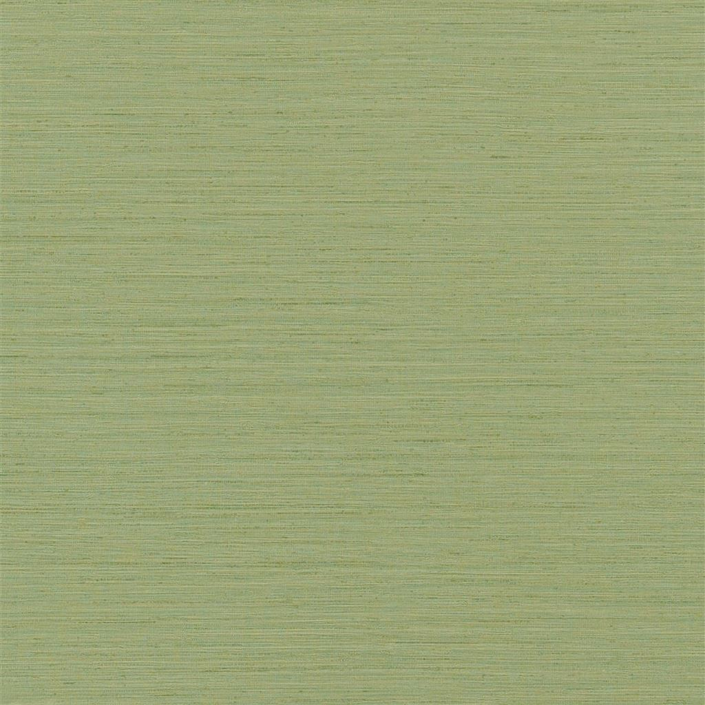 Brera Grasscloth Peridot Wallpaper