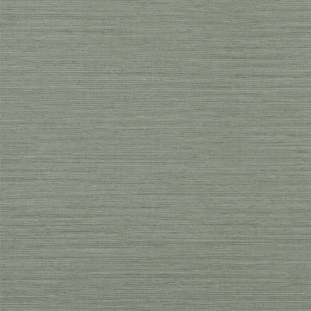 Brera Grasscloth Charcoal Wallpaper