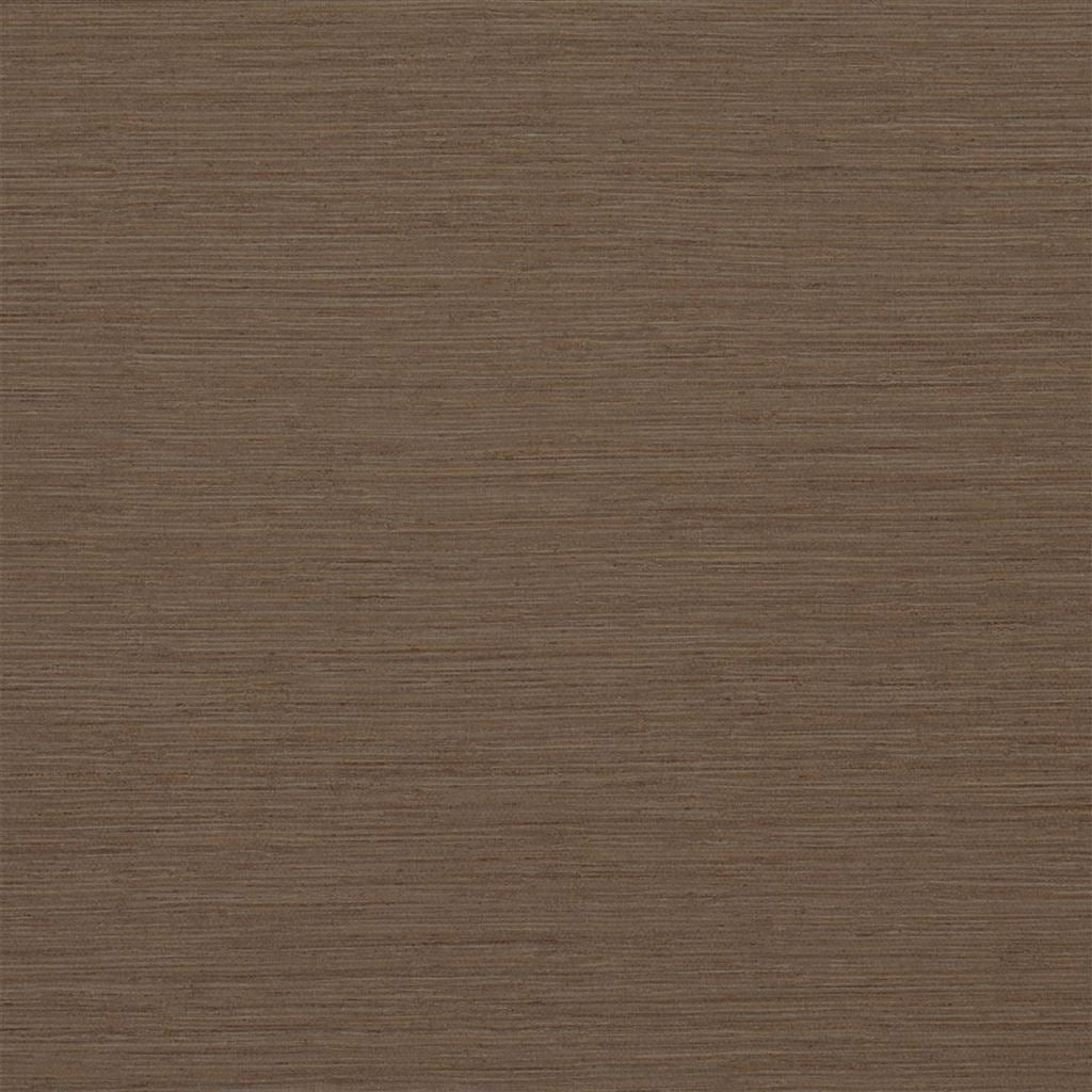 Brera Grasscloth Walnut Wallpaper