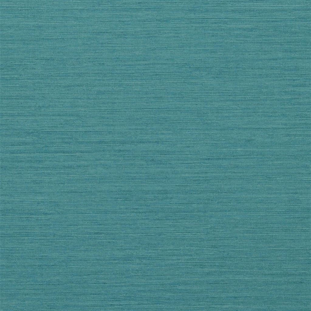 Brera Grasscloth Azure Wallpaper
