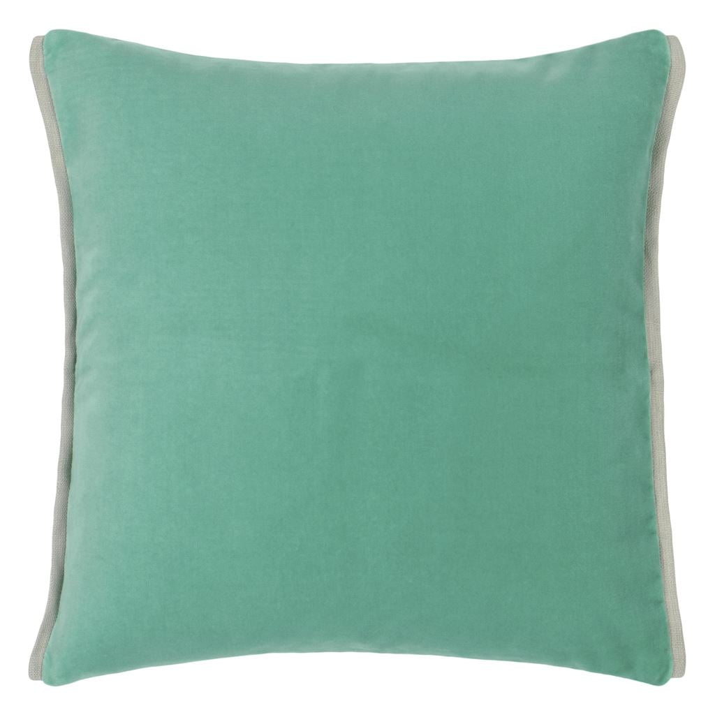 Varese Pale Jade & Celadon Cushion