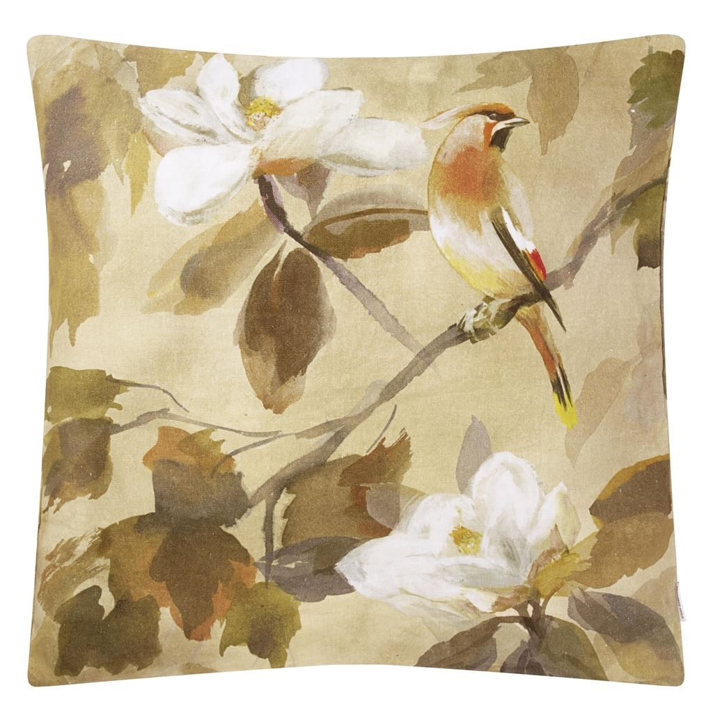 Maple Tree Sepia Cushion