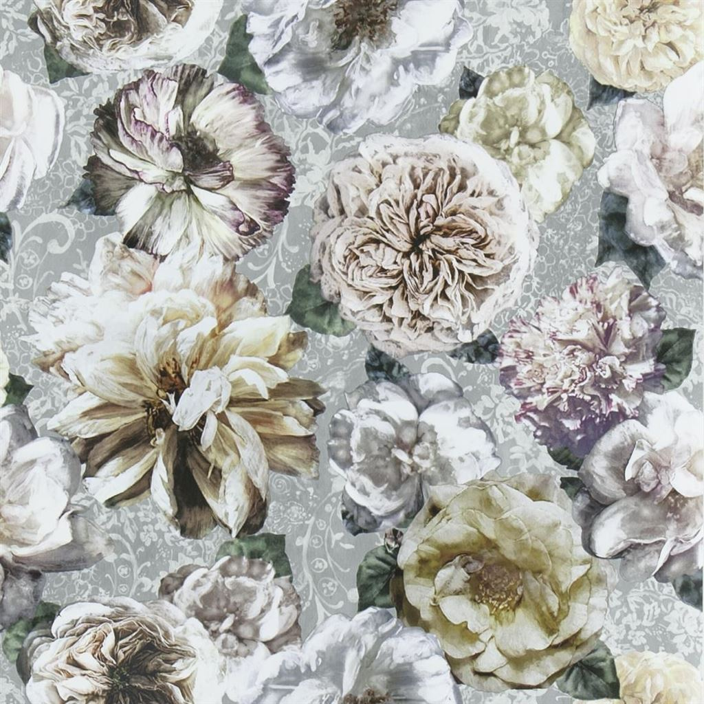 Pahari Platinum Wallpaper by Designers Guild