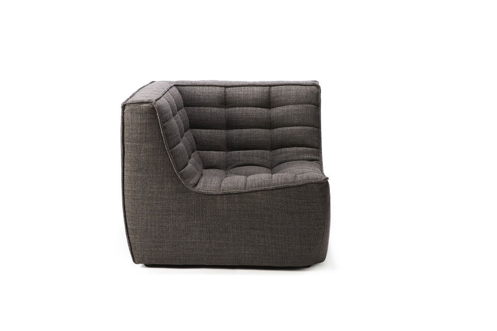 N701 sofa - corner dark grey