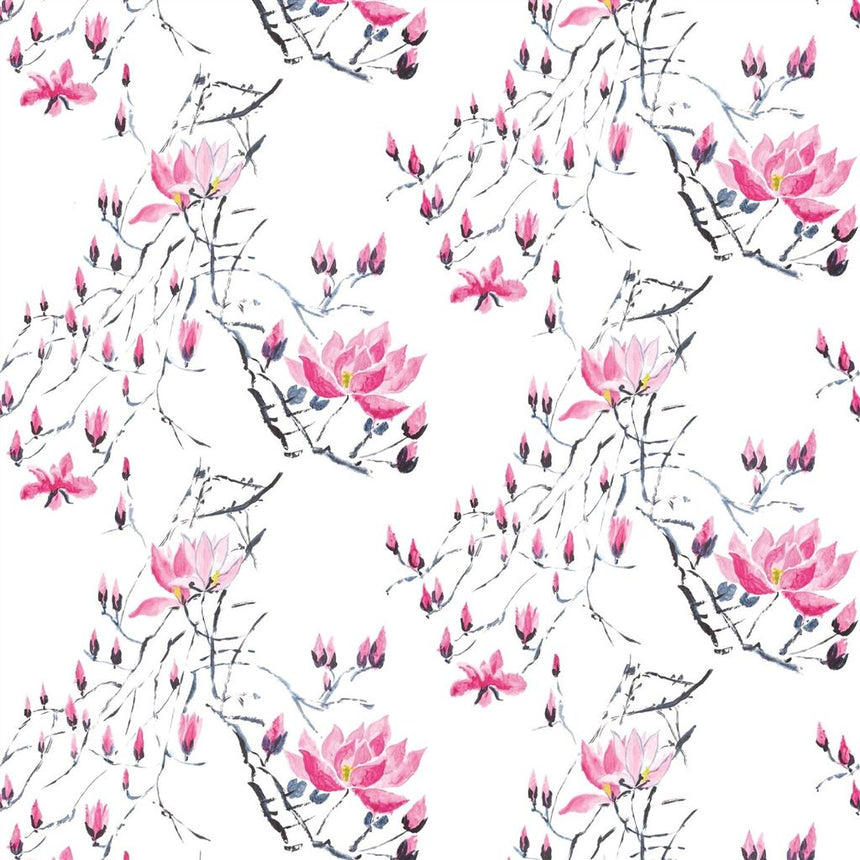 Madame Butterfly - Peony Wallpaper