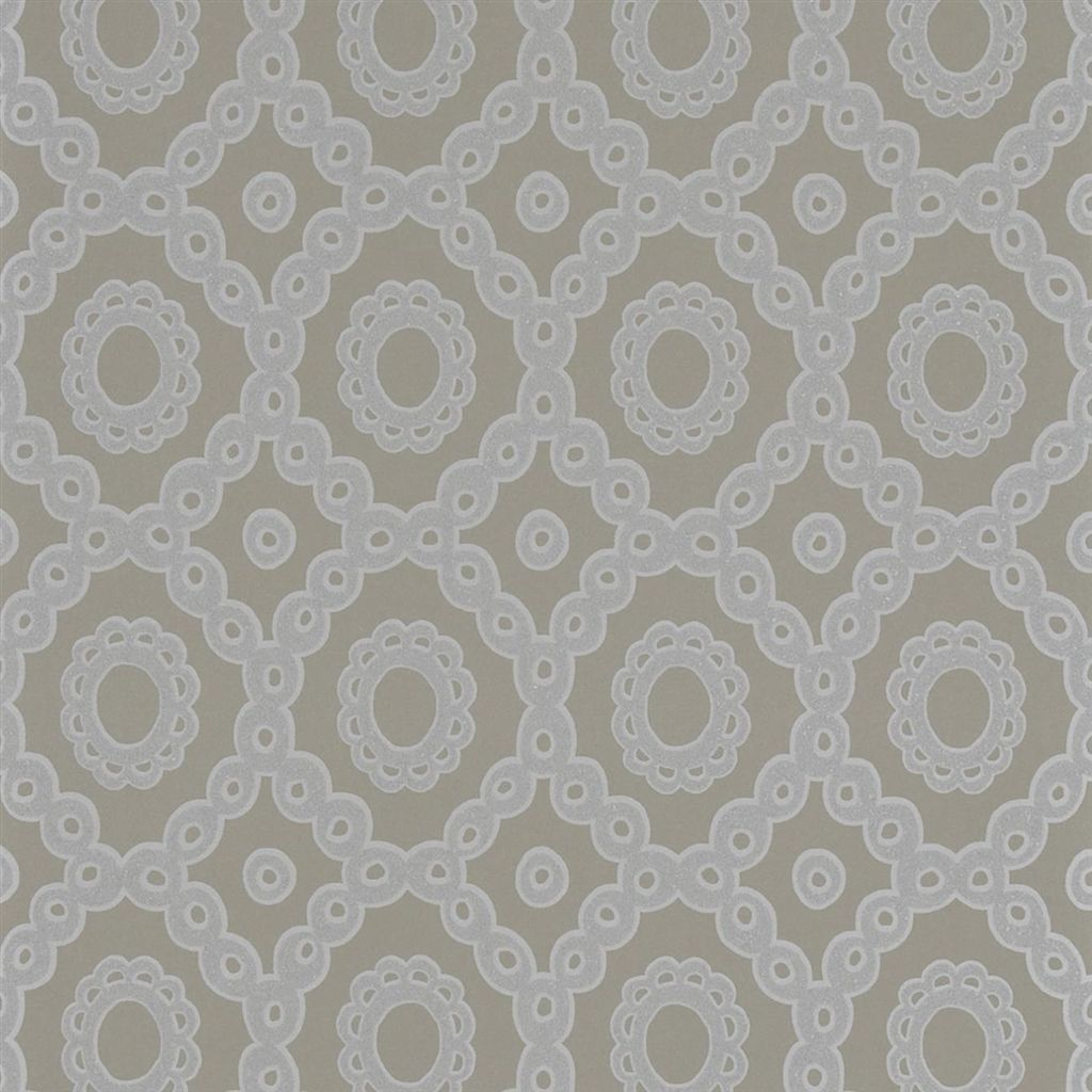 Melusine - Travertine Wallpaper