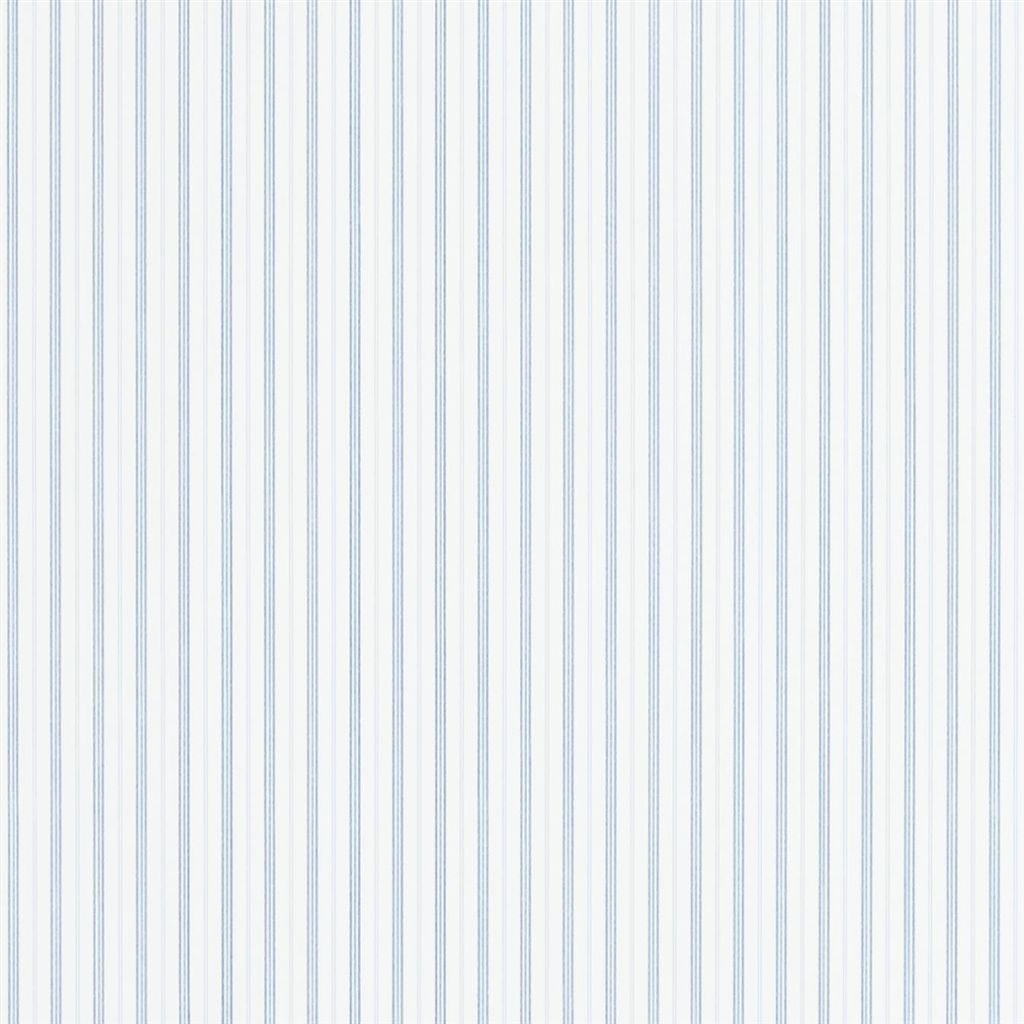 Marrifield Stripe - Denim Wallpaper