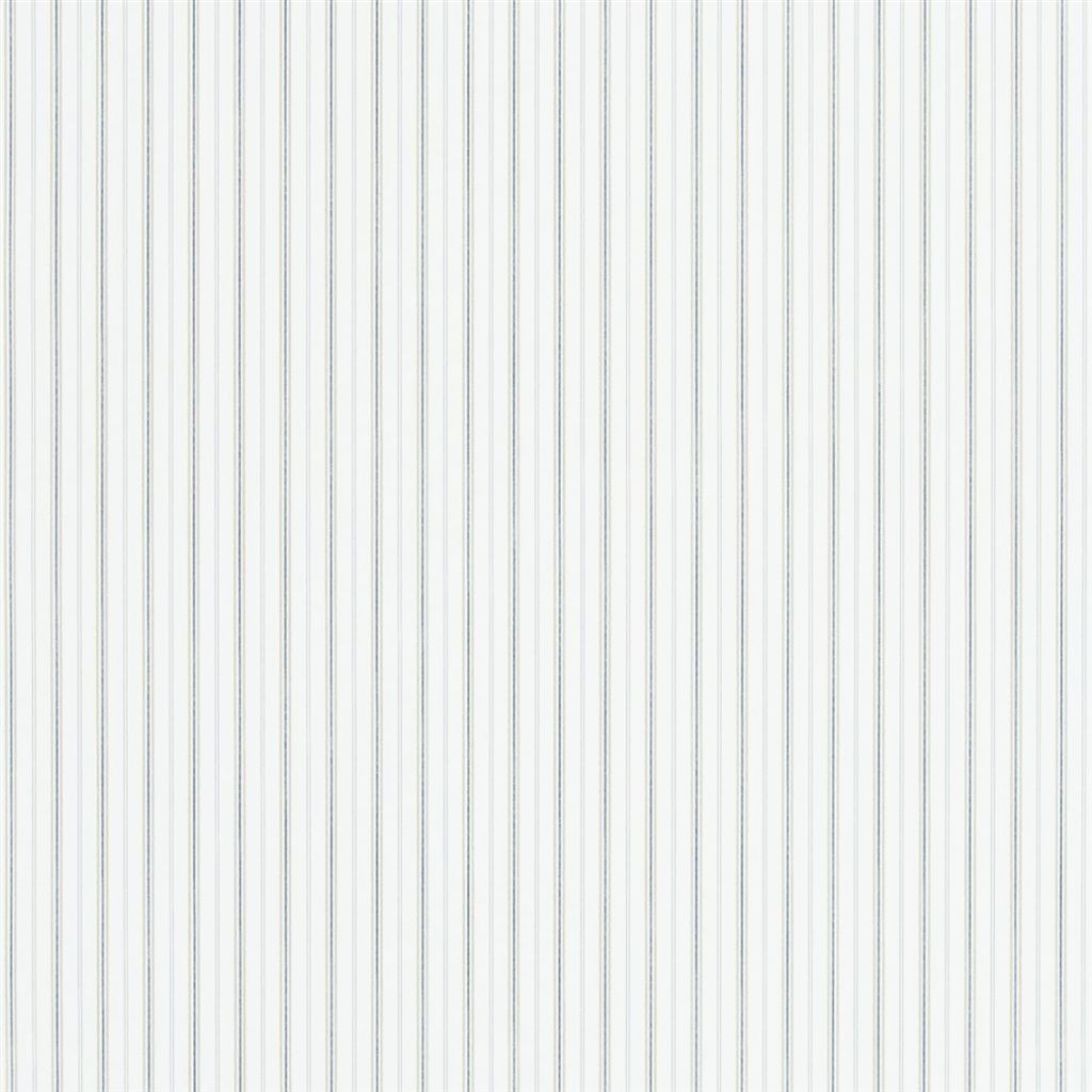 Marrifield Stripe - Blue / Linen Wallpaper