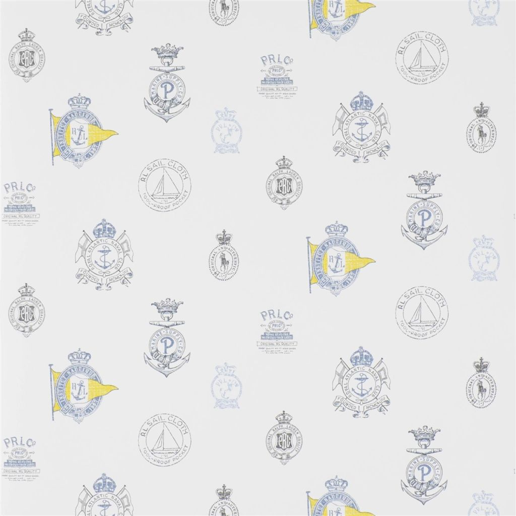 Rowthorne Crest - Top Brass Wallpaper