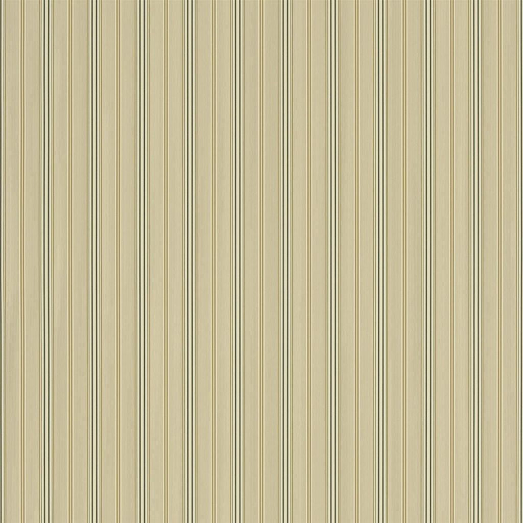 Pritchett Stripe - Taupe Wallpaper