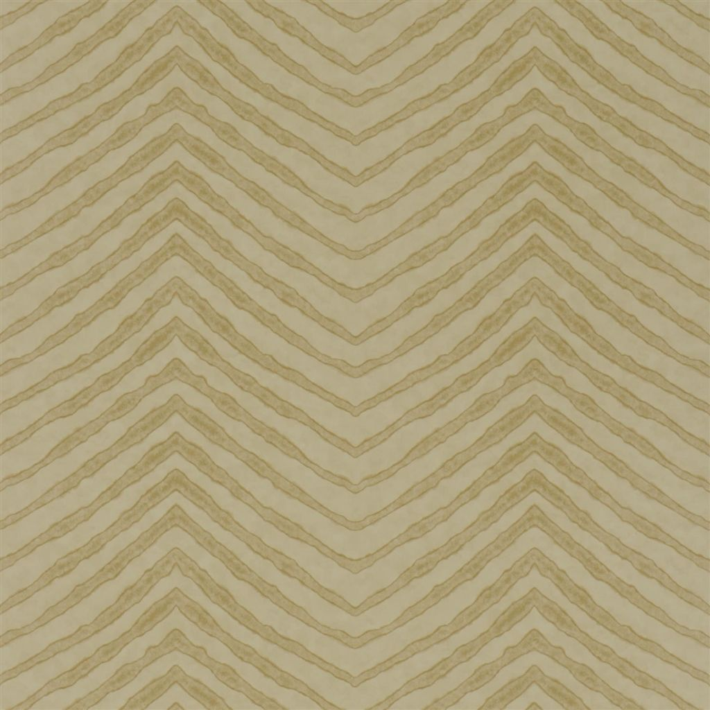 Burchell Zebra - Parchment Wallpaper