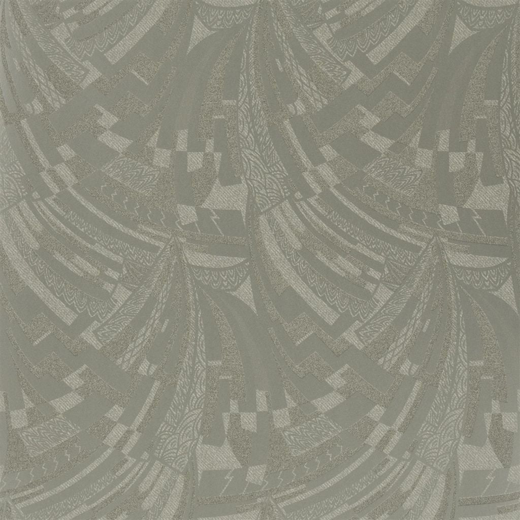 Josephine Deco - Mercury Glass Wallpaper