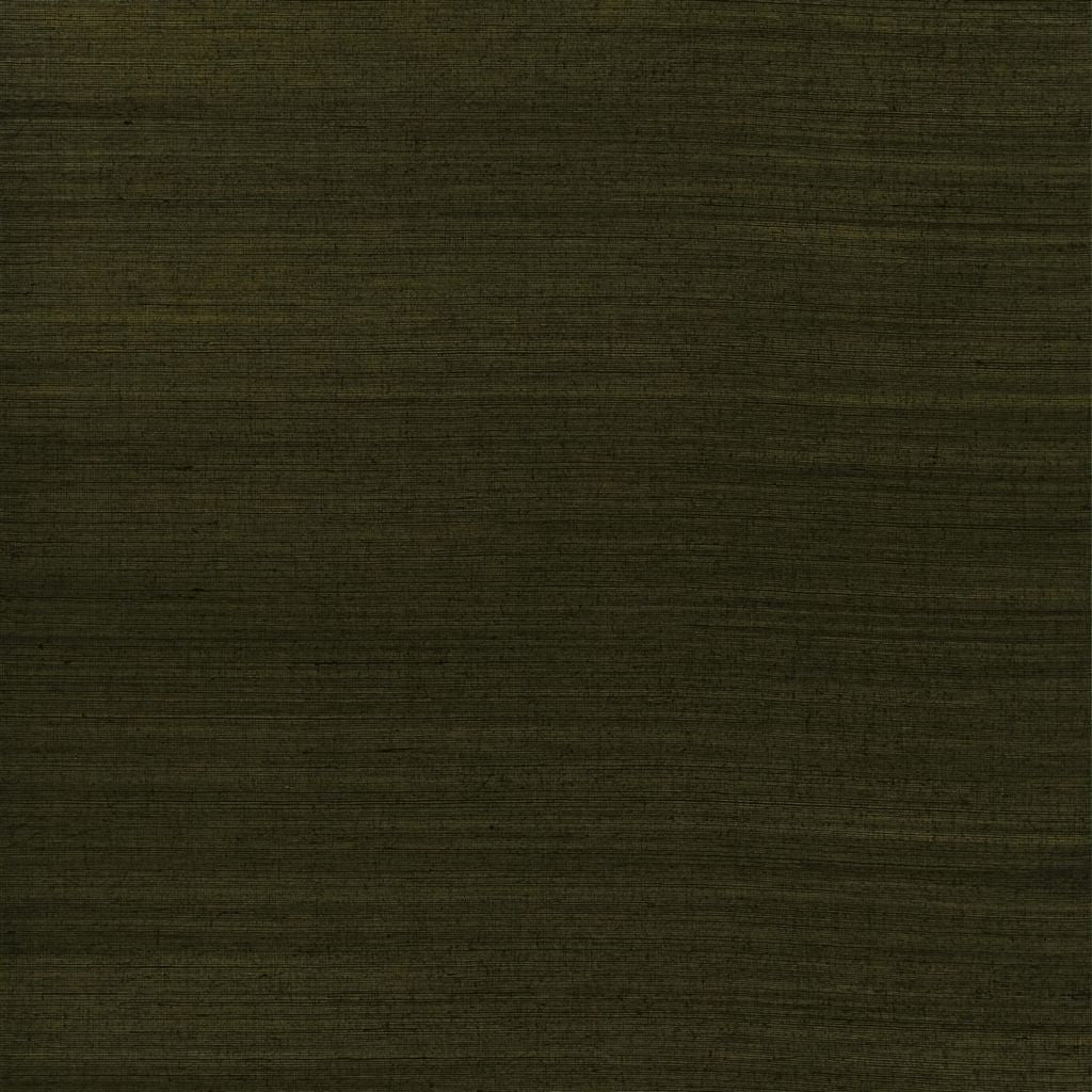 Shantou Metallic Weave - Black Gold Wallpaper
