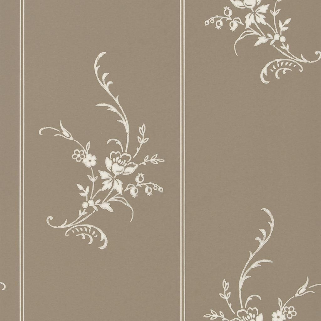 Elsinore Floral - Charcoal Wallpaper