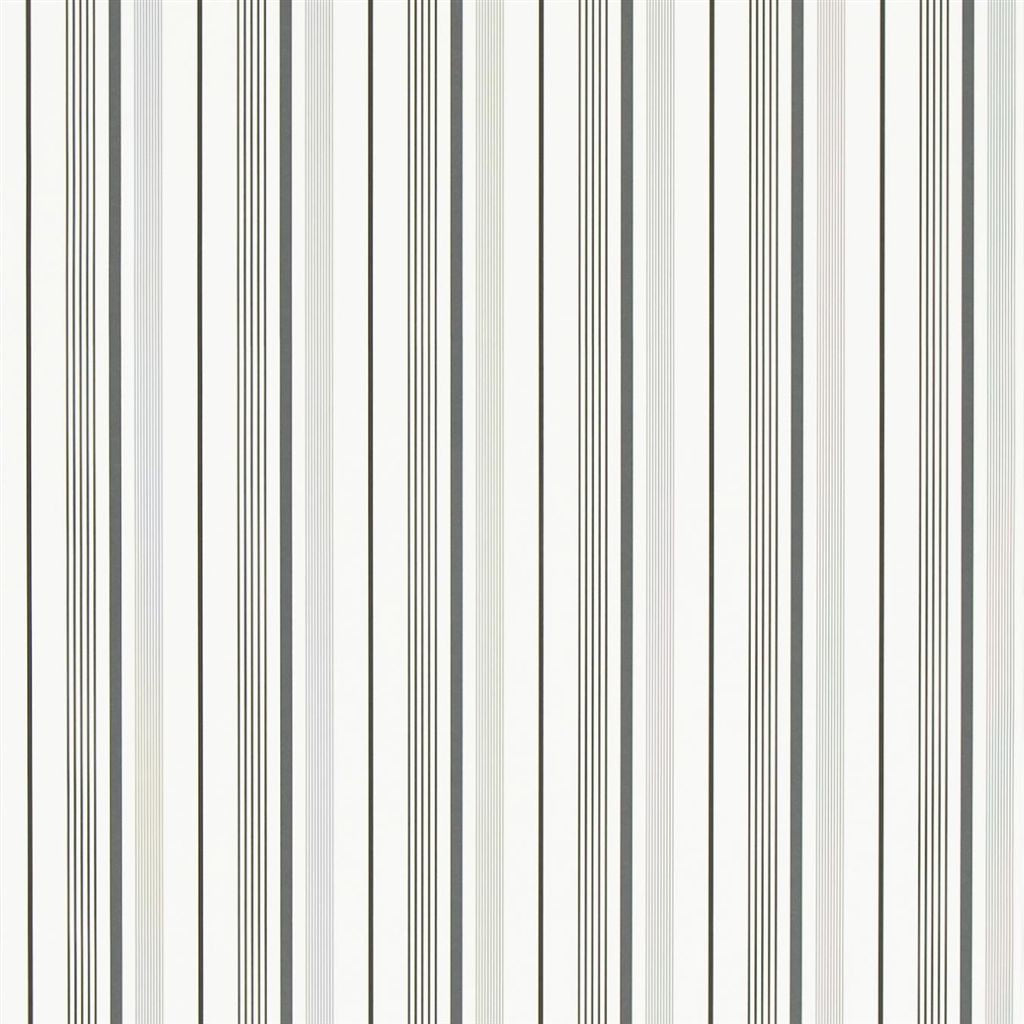 Gable Stripe - Jet Wallpaper