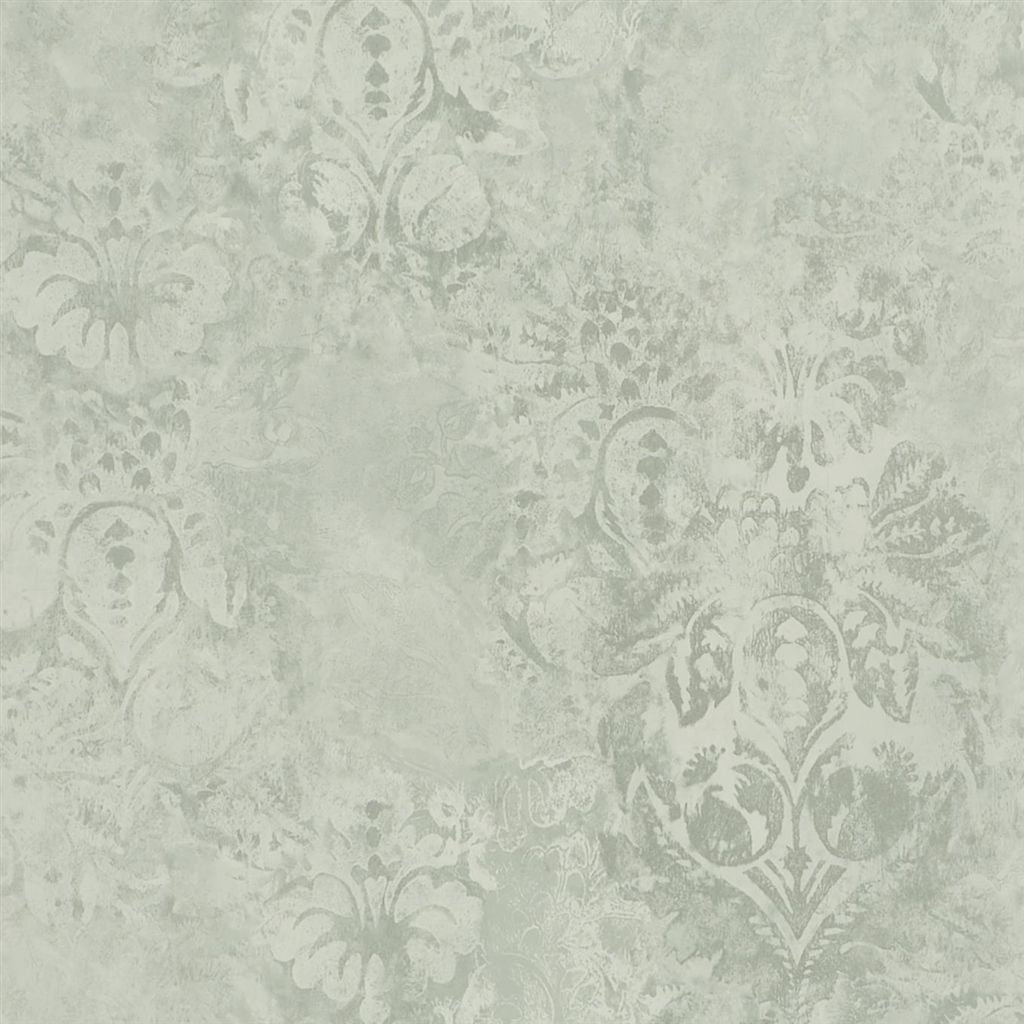 Gessetto - Pale Celadon Wallpaper