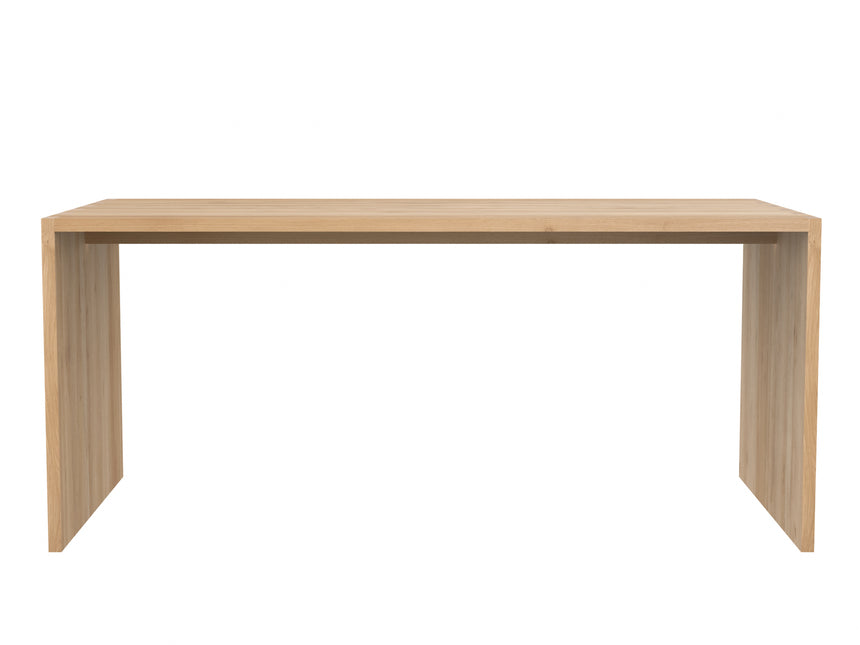 Oak office U table/desk 172cm