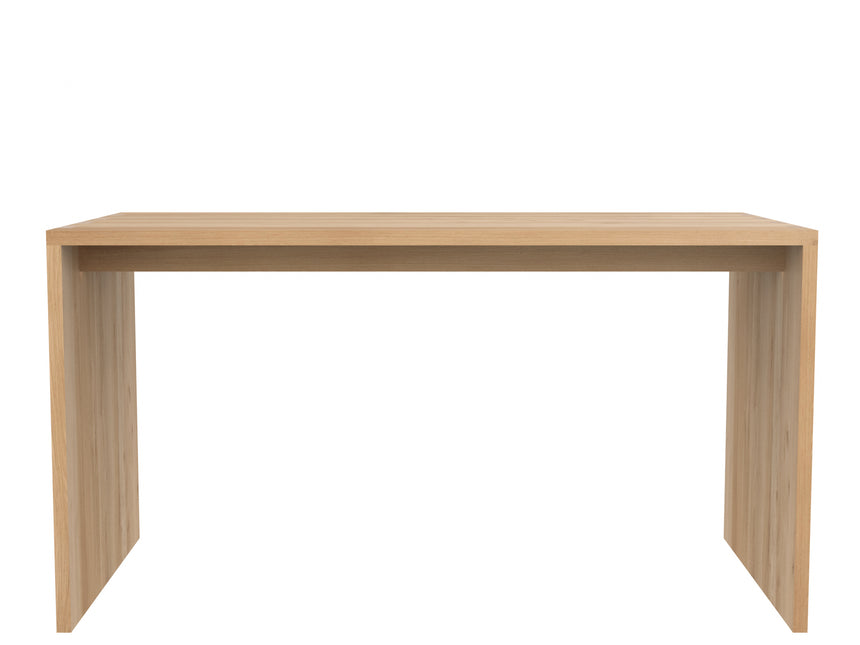 Oak office U table/desk 140cm