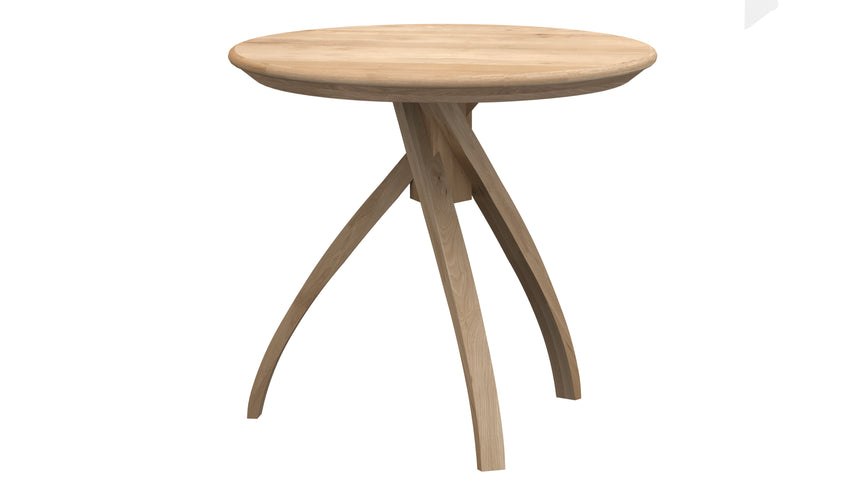Oak Twist side table small