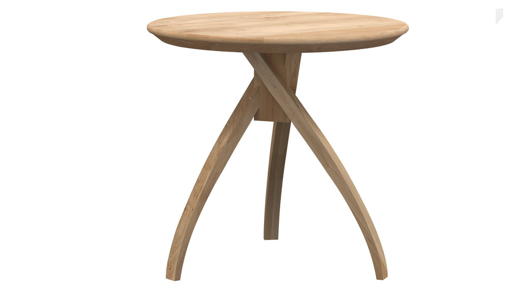 Oak Twist side table medium