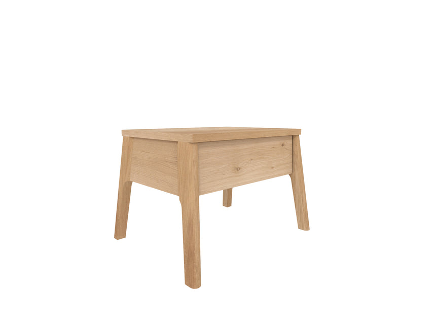 Oak Air bedside